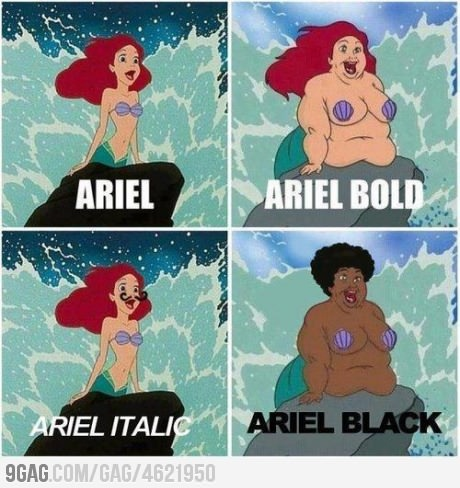 Know your Fonts… Hahaha #fontnerd