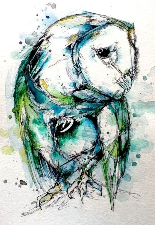 #Owl #Painting