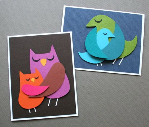 Mother's Day Cards #owl #mother's #day #card #DIY #project