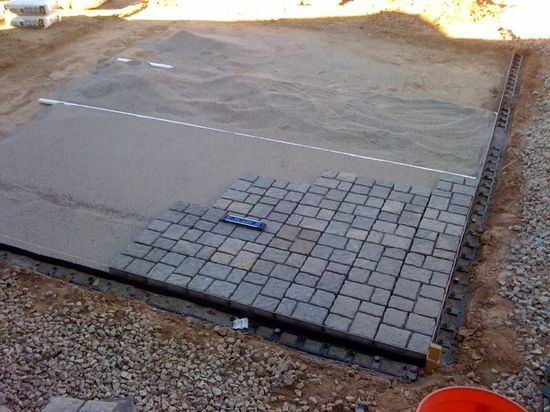 budget diy small patio   My DIY Paver Patio On The Cheap…. – Landscaping &