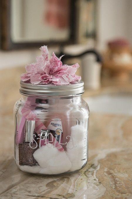 Mason Jar Manicure Gift Set-Cute Gift – LOVE LOVE