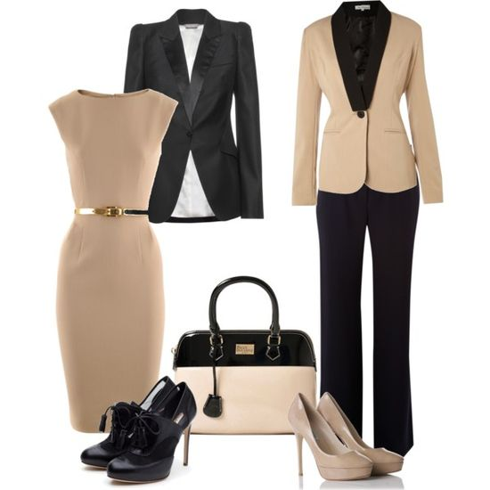 Office outfit, created by nadines488 on Polyvore