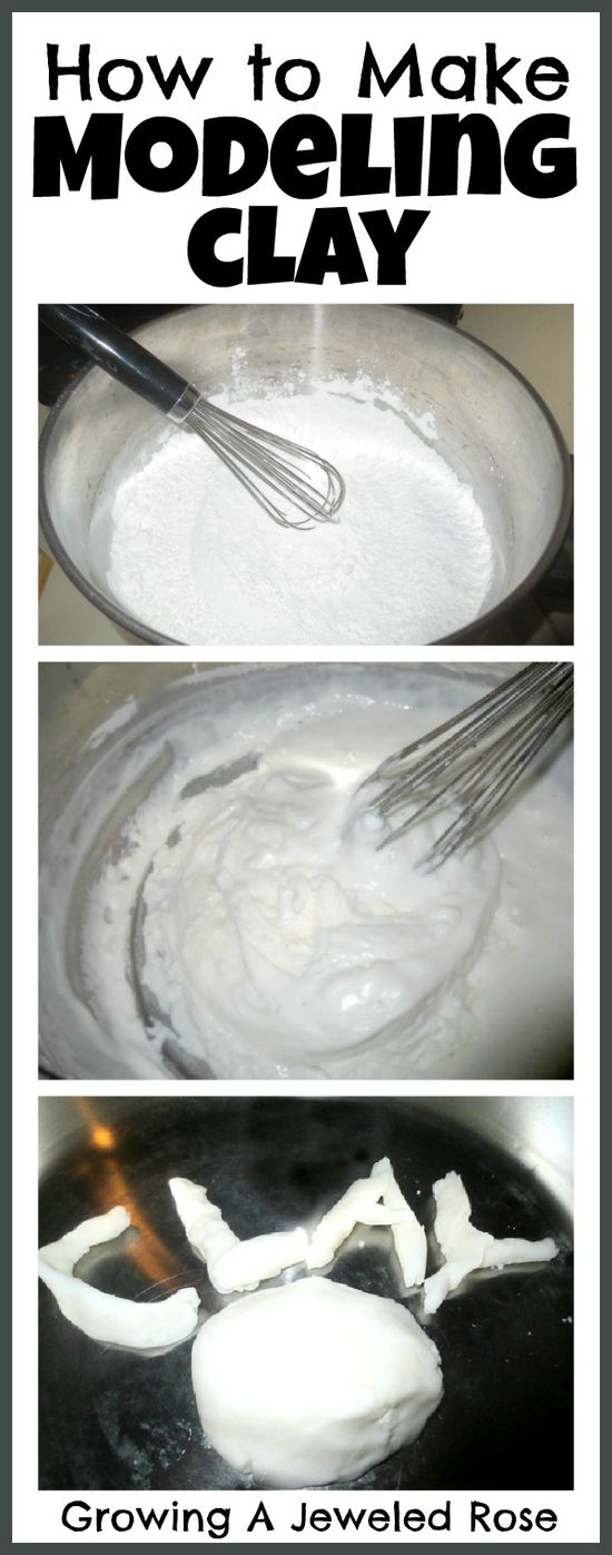 This homemade clay recipe only takes two ingredients and 10 minutes! 2 Cups of B