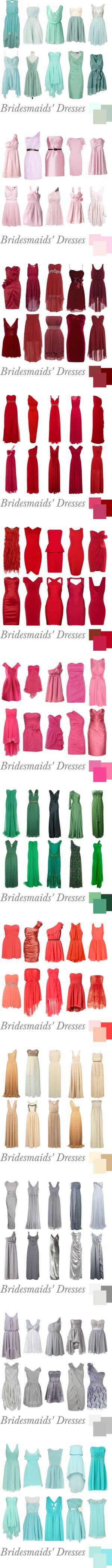 """Bridesmaids' Dresses"""