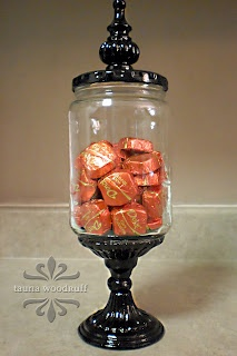 re-purposed pickle jar