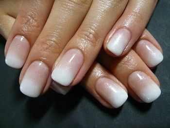 i like the ombre look on nails. next time i get my nails done, i will be asking