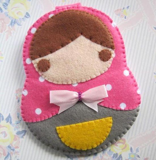 handmade felt crafts