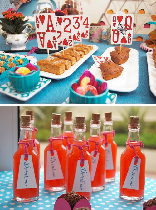 Alice in Wonderland Tea Party Ideas – One day I totally want to throw a mad hatt
