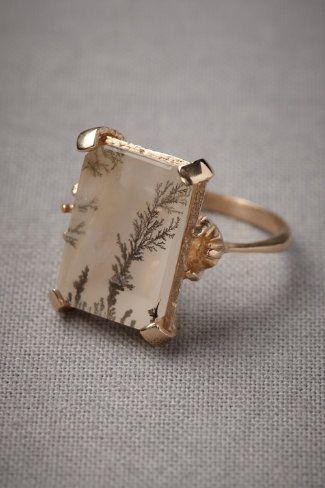 vintage ring – love the subtle print