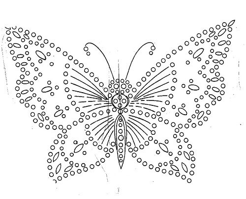how to crotchet a butterfly