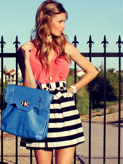 Bright, cute summer outfit