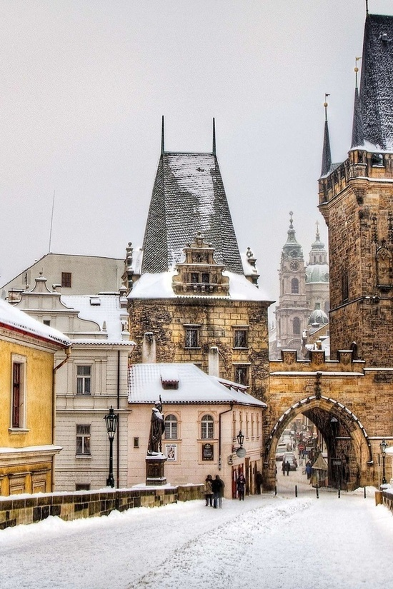 Winter in Prague – only the most beautiful place in the world!