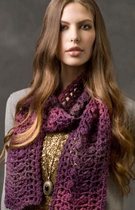 Sophisticated Scarf Crochet Pattern
