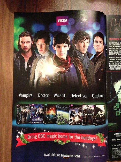 AND THEY PUT MERLIN AT THE FRONT <3