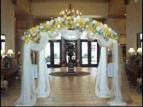 Decorated Arches For Weddings
