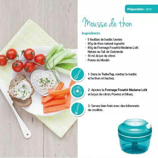 recettes verrines tupperware