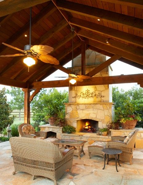 outdoor patio rooms with fireplace Pinterest • The world's catalog of ideas