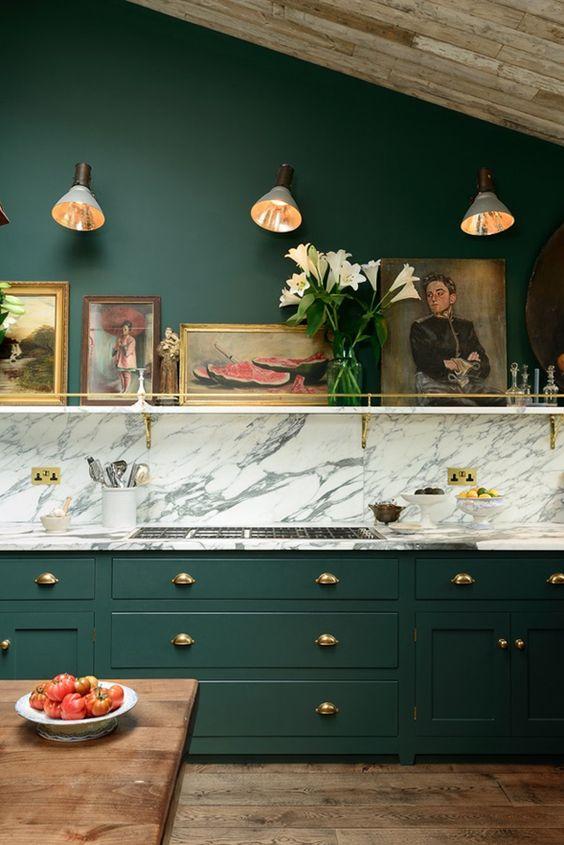 Green kitchen: