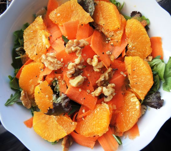 recetas paleo,ensalada paleo,ensalada zanahoria naranja,ensalada verano,ensalada deliciosa