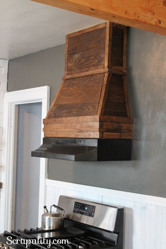 The Cottage Kitchen Hoods And Rustic Style On Pinterest