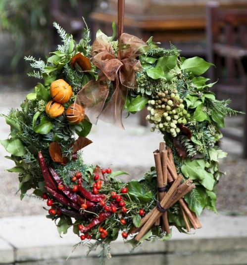 Your Christmas decor isn't complete without a festive wreath. Here are some of the most impressive for sale: