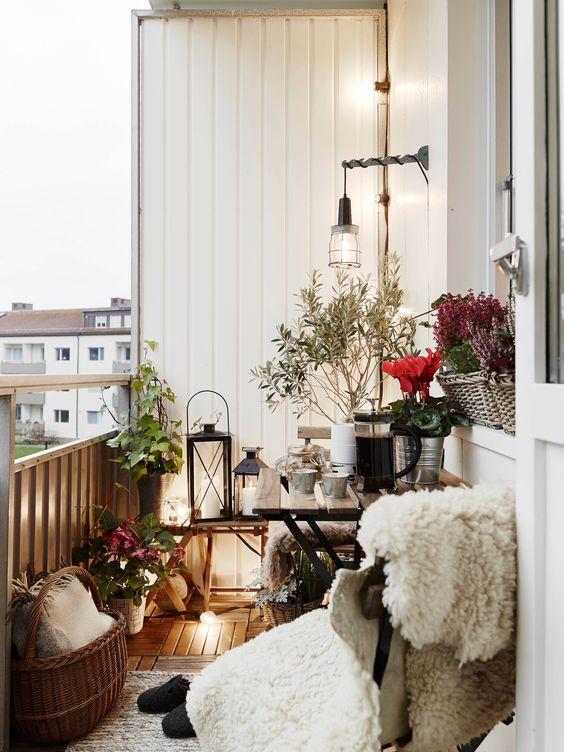 skandynawski balkon, dekoracje diy, wnętrze w stylu boho, ogród w stylu boho, boho dekoracje,  dekoracje diy do ogrodu