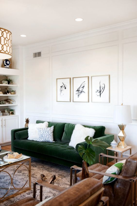 Update your walls with beautiful picture frame molding