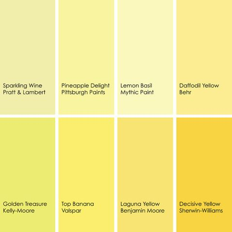 shades of yellow paint colors 2 pinterest yellow on kelly moore paint colors chart id=65867