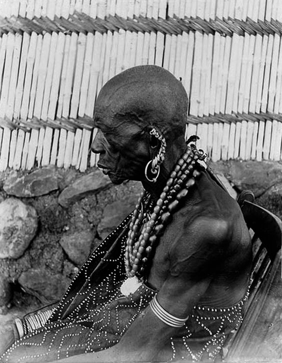 "Africa | ""The Luo; visual history"". Profile portrait of ..."