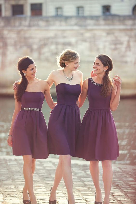 Our designers loved incorporating new fabrics and styles into our Fall 2014 collection. Mix and match to find the perfect combination for your bridal party. #davidsbridal #fall2014: