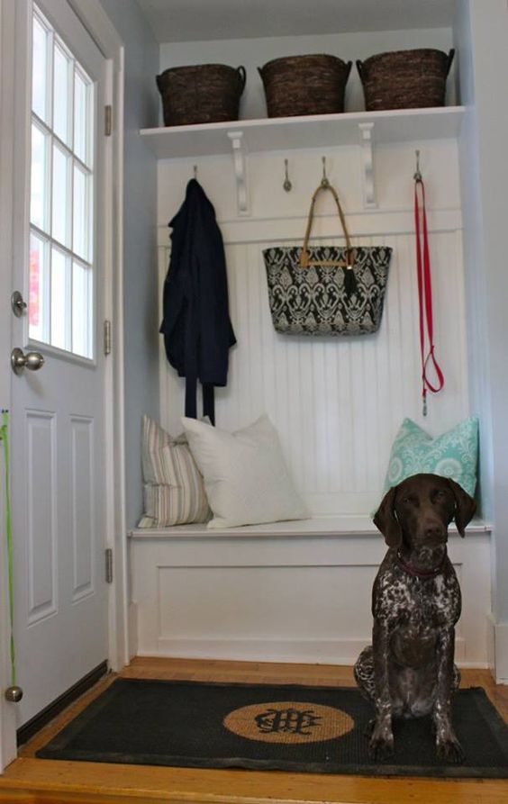 Build A Mini Mudroom Mud Rooms Mud And This Old House