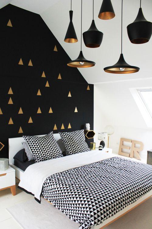 Dormitorios negros. Como conseguir un toque actual | Comodoos Interiores··Blog decoración··Proyectos Decoración Online··: