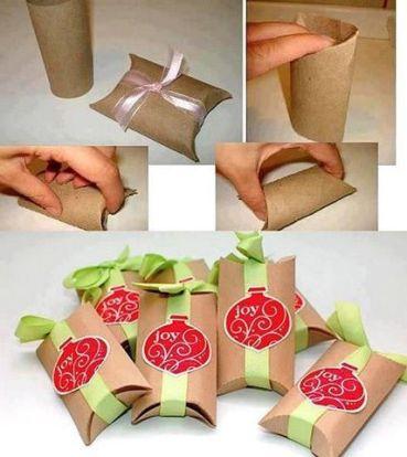 Resultado de imagen para cajitas de regalo con papel higienico