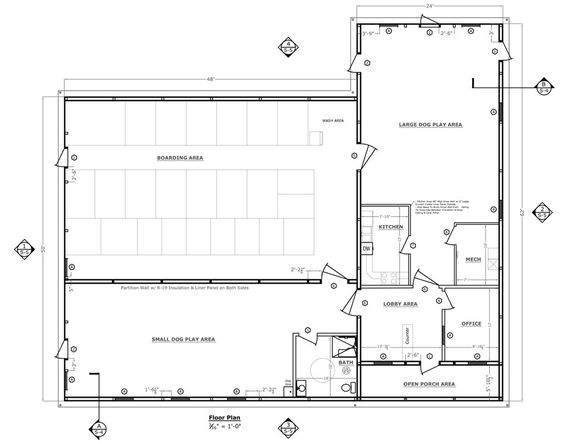 Dog Boarding Kennel Plans