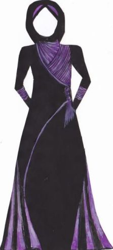 Abaya design from Silkroute Stylein