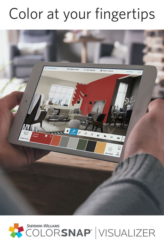 ipad paint walls and color palettes on pinterest on home depot paint visualizer id=44357