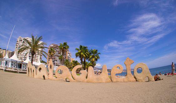 Playa de la Malagueta en Málaga