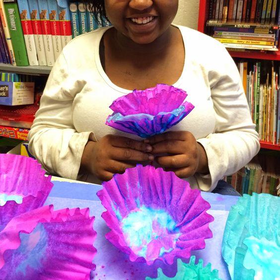 Sticka's Kids: Coffee Filter Coral Reef | Social Studies ...
