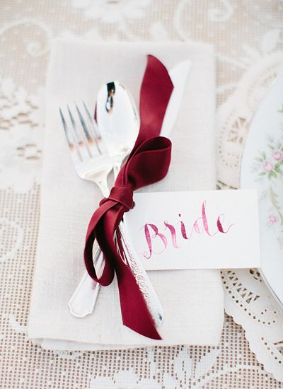 watercolor place cards | Kristen Kilpatrick: