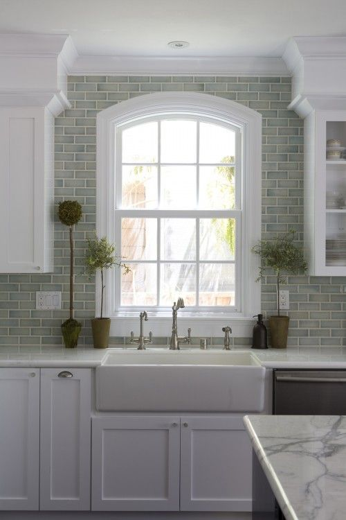 really like this might need to put some molding around my kitchen window my ceiling my be too on kitchen cabinets around window id=92154