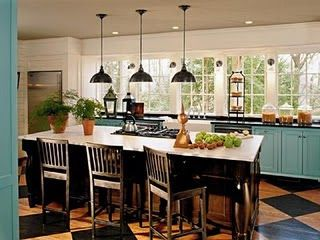 farm style kitchens upper cabinets and country farm on pinterest on farmhouse kitchen no upper cabinets id=75596
