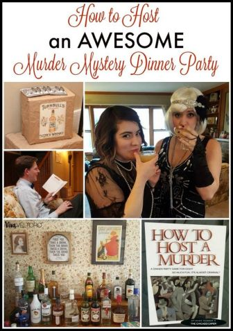 This looks SO fun! How to host a murder mystery dinner party.: