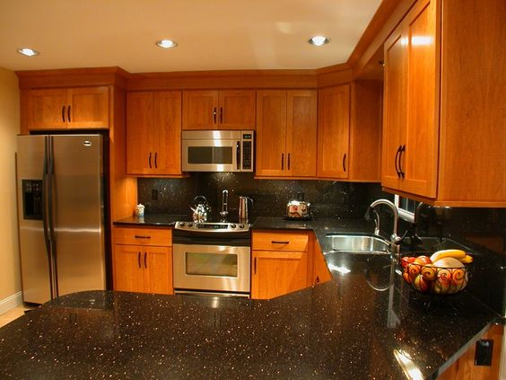 10 Unique Uses for Black Galaxy Granite in Your Kitchen on Black Countertops  id=86852