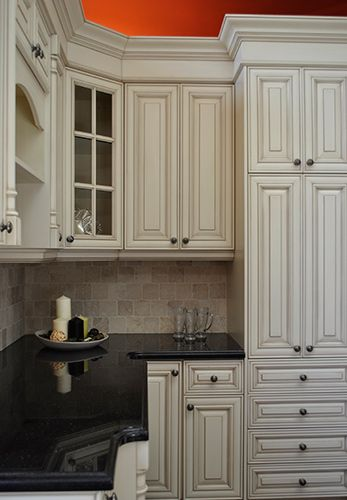 Almond Glazed Kitchen Cabinets Home Pinterest Glazed