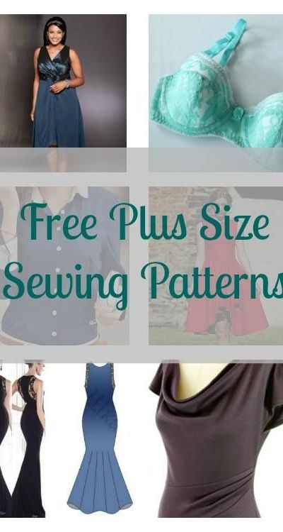 free plus size sewing patterns