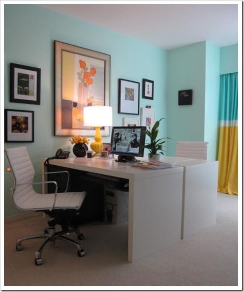 paint colors offices and caribbean on pinterest on blue office color id=15456