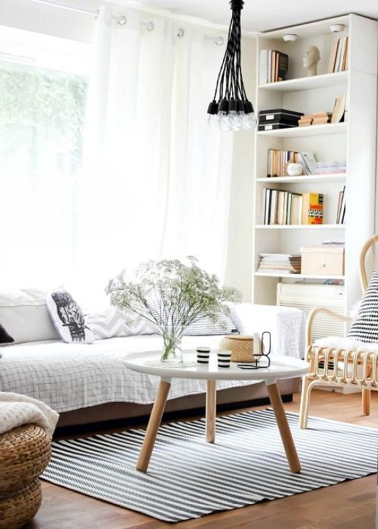 Norwegian Living Rooms: Which is YOUR Fave?  *the table is beautiful*: