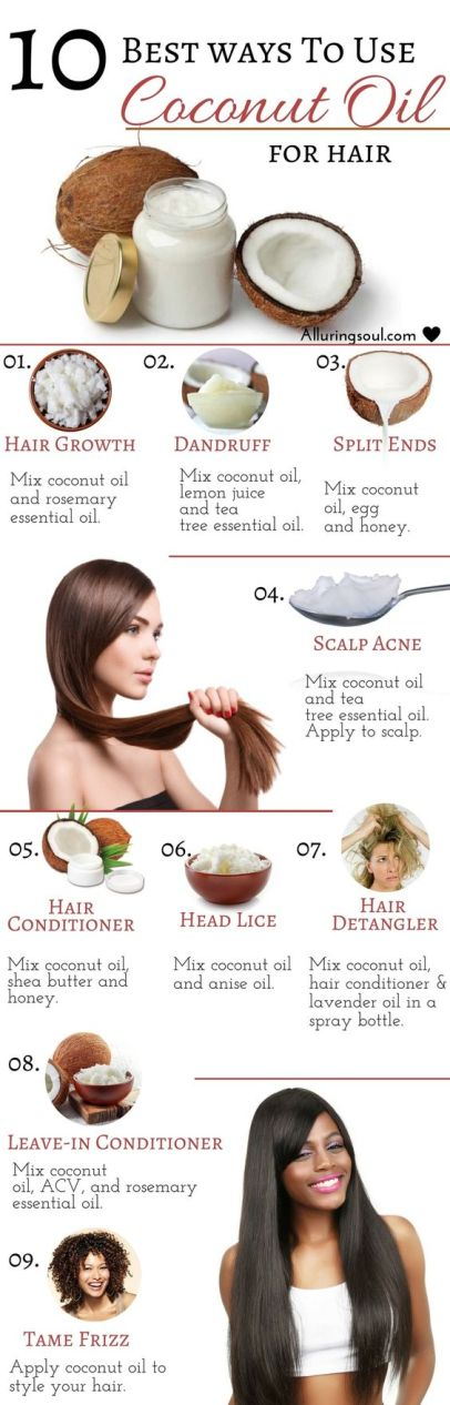 The top benefits of coconut oil!