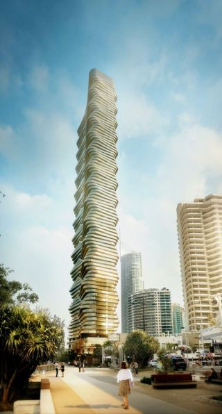 Gold Coast Spirit tower render