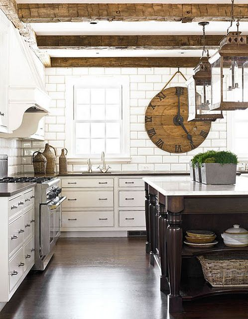 "Some see ""Industrial"" Kitchen...I see what it was once upon a time...:"